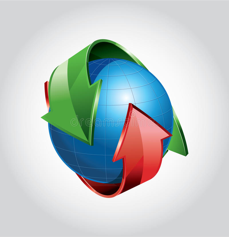 Download Globe stock illustration. Illustration of illustration - 21801537