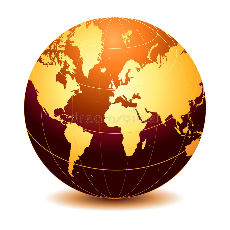 Globe illustration libre de droits
