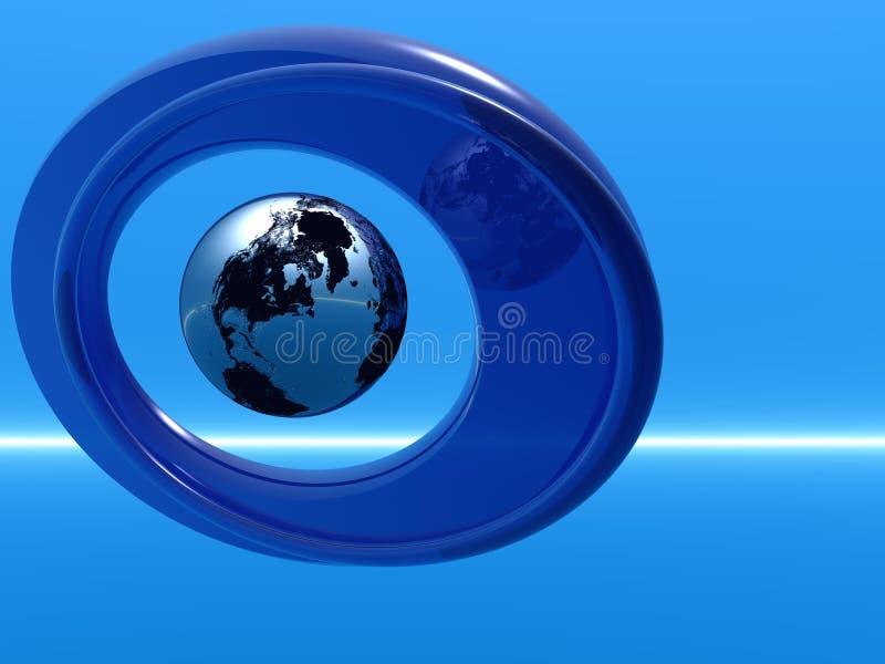 Download Globe stock illustration. Illustration of international - 4219332