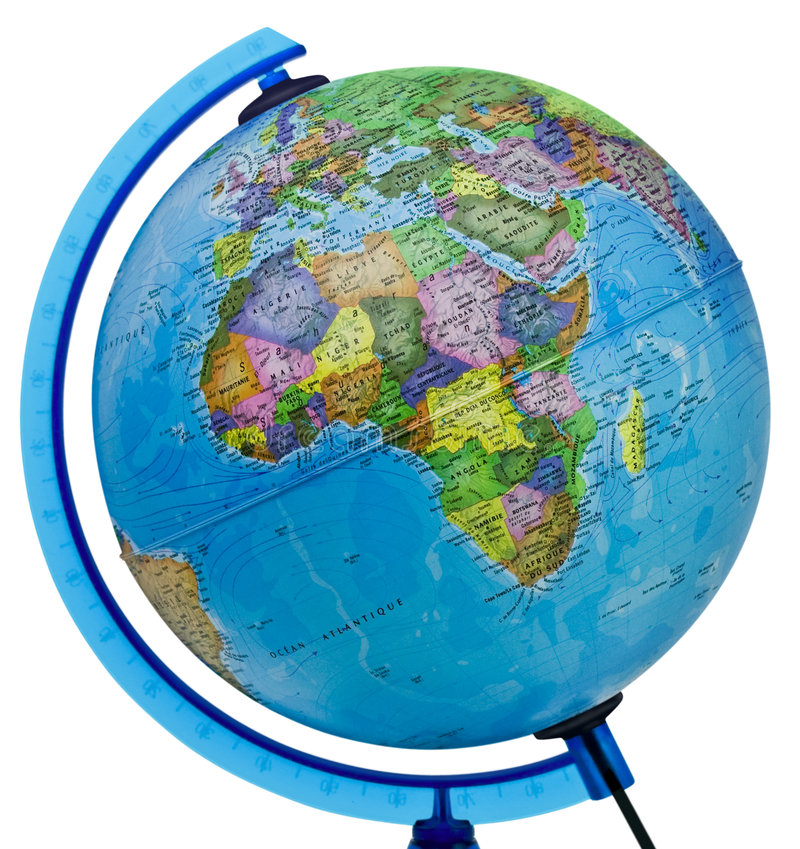 Download Globe stock image. Image of continent, globe, background - 5616955