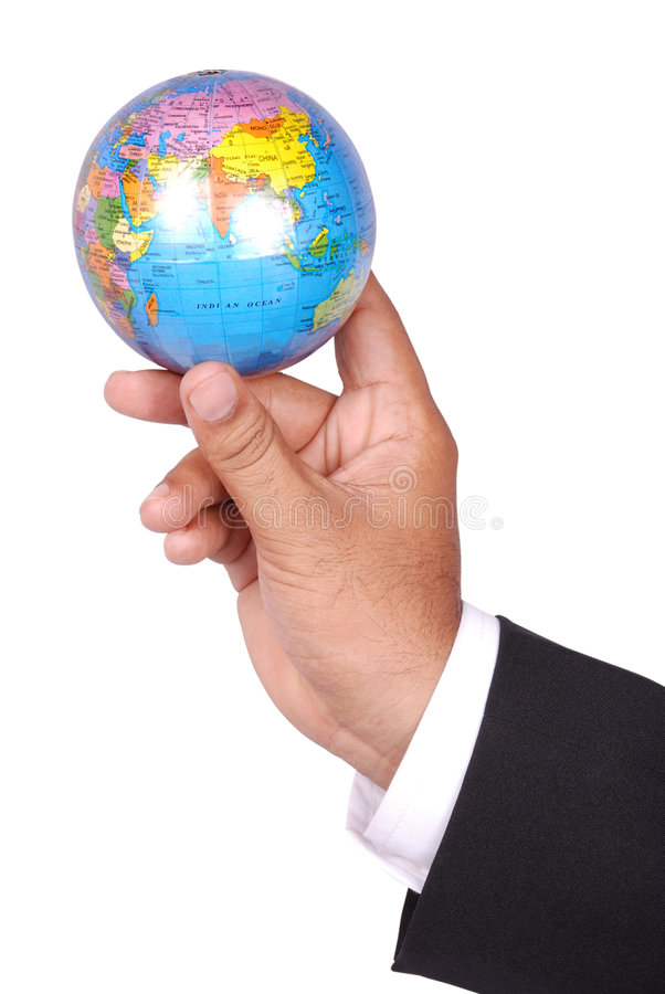 Globe royalty free stock photo