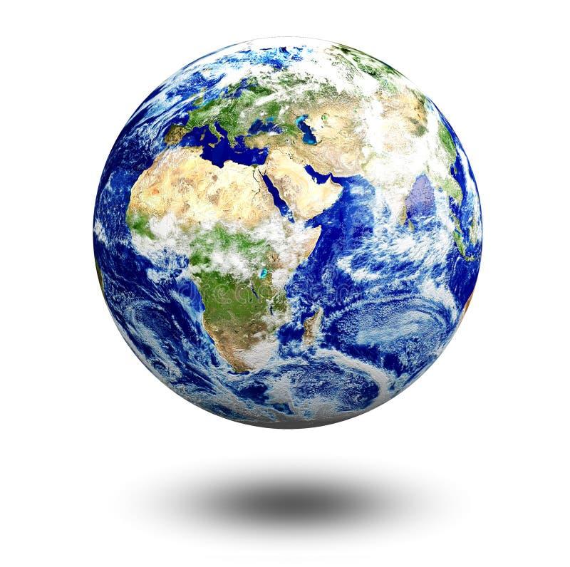 Globe royalty free illustration