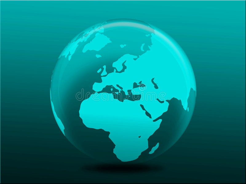 Download Globe stock illustration. Image of travel, lighting, gradient - 7281559