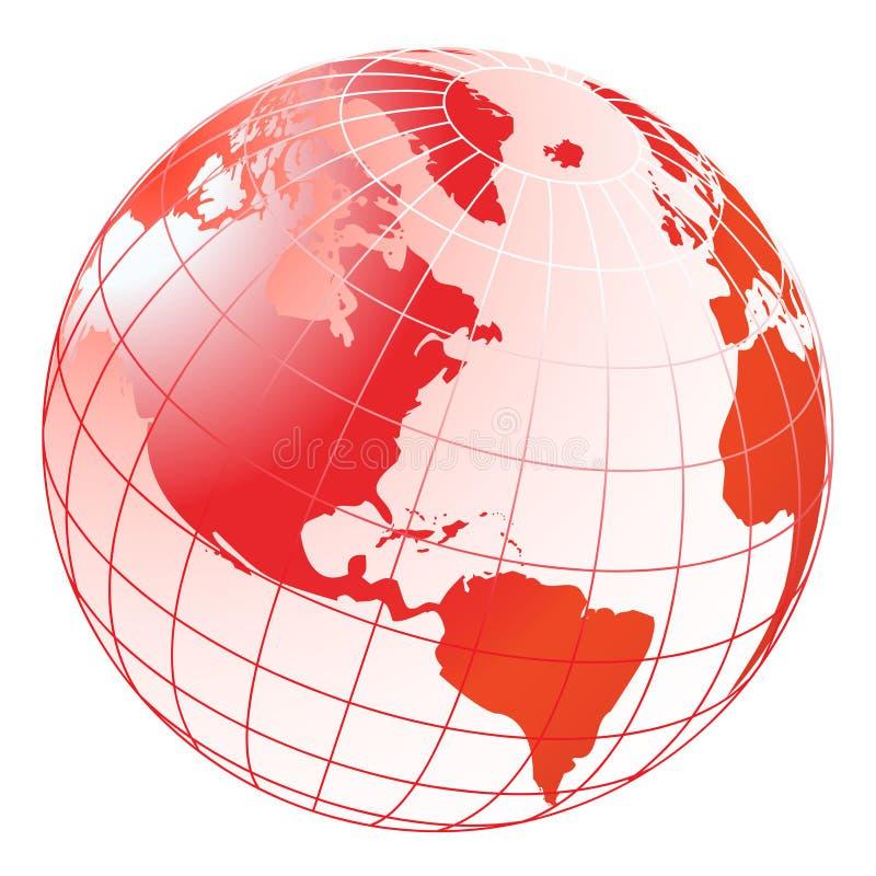 globe illustration de vecteur