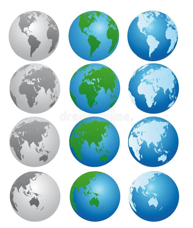 Download Globe illustration de vecteur. Illustration du north, globe - 8670115