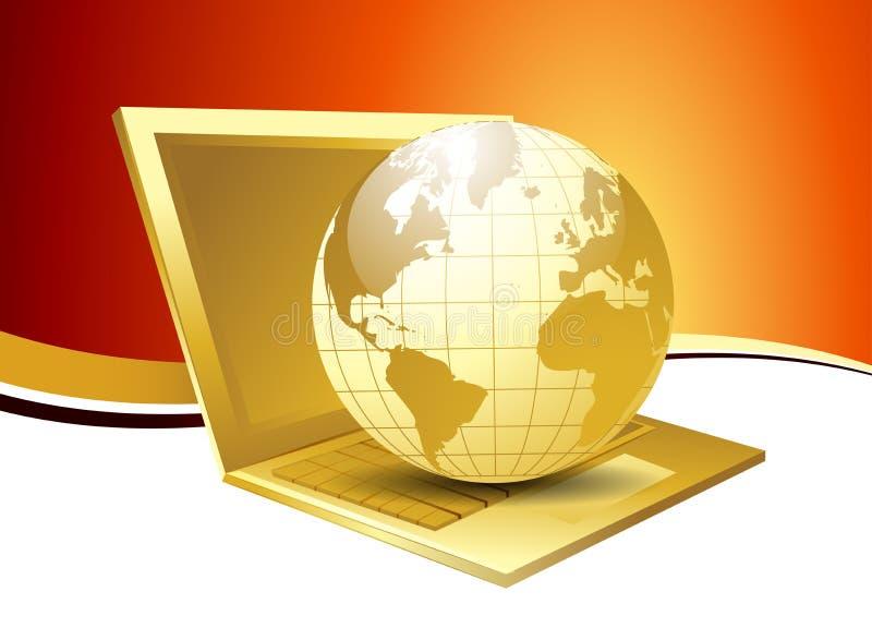 Globe stock illustration