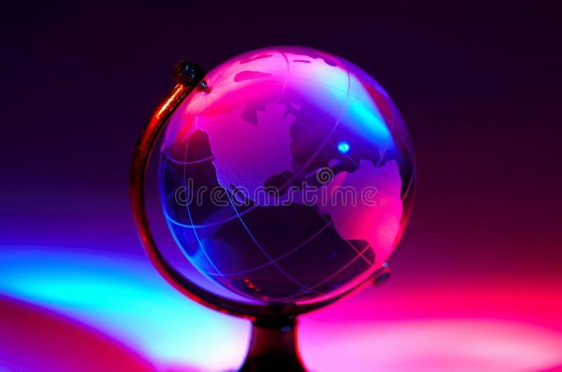 Globe abstrait photographie stock libre de droits