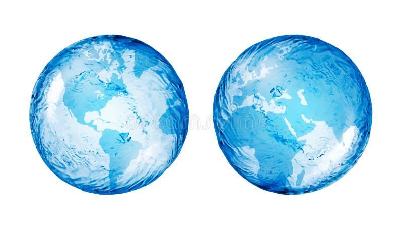 Globe, abstrait illustration libre de droits