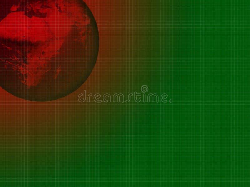 Globe abstrait illustration libre de droits