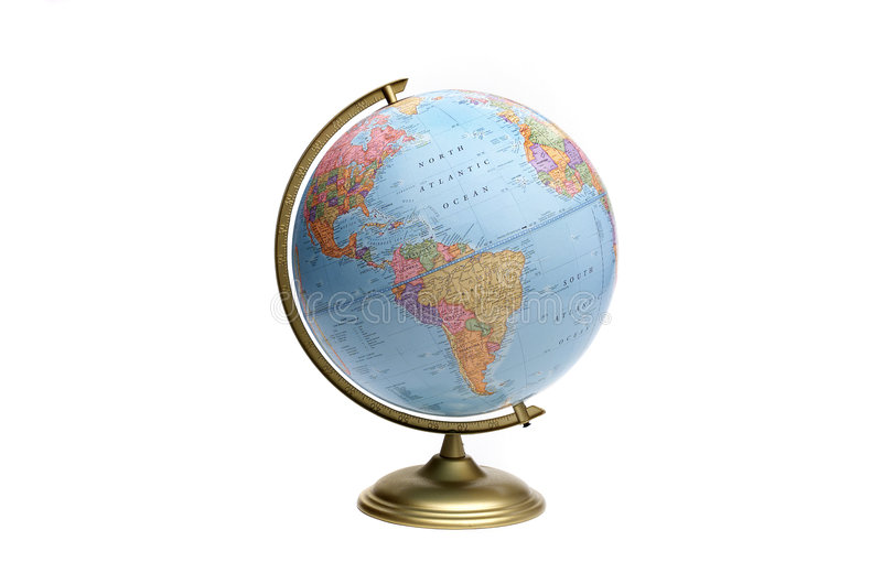 Download Globe of Americas stock photo. Image of ocean, north, learning - 1522368