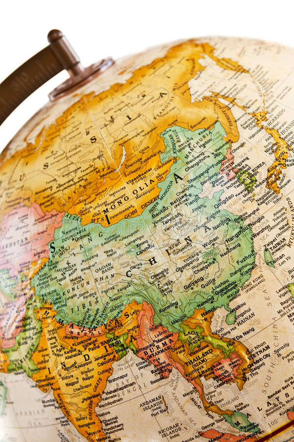 Free Globe - Asia Stock Photos - 9389963