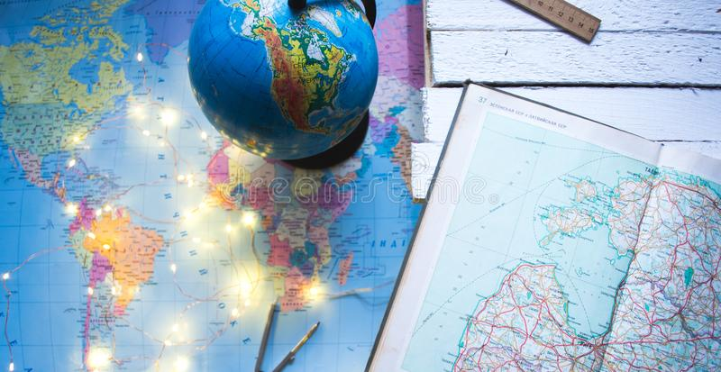 Globe on the background of the world map stock photo image of download globe on the background of the world map stock photo image of background gumiabroncs Gallery