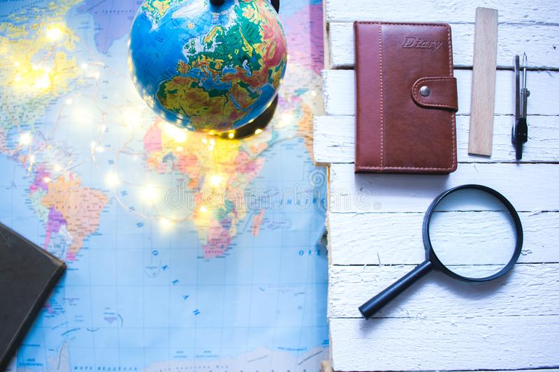 Globe on the background of the world map stock image image of download globe on the background of the world map stock image image of green gumiabroncs Gallery