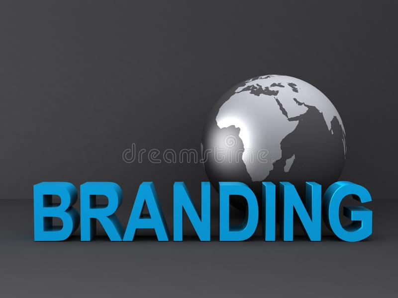 Download Globe and branding stock image. Image of international - 20670051