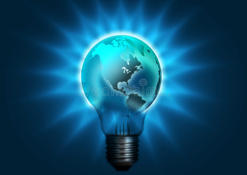 Download Globe Bulb Stock Photography - Image: 4067002