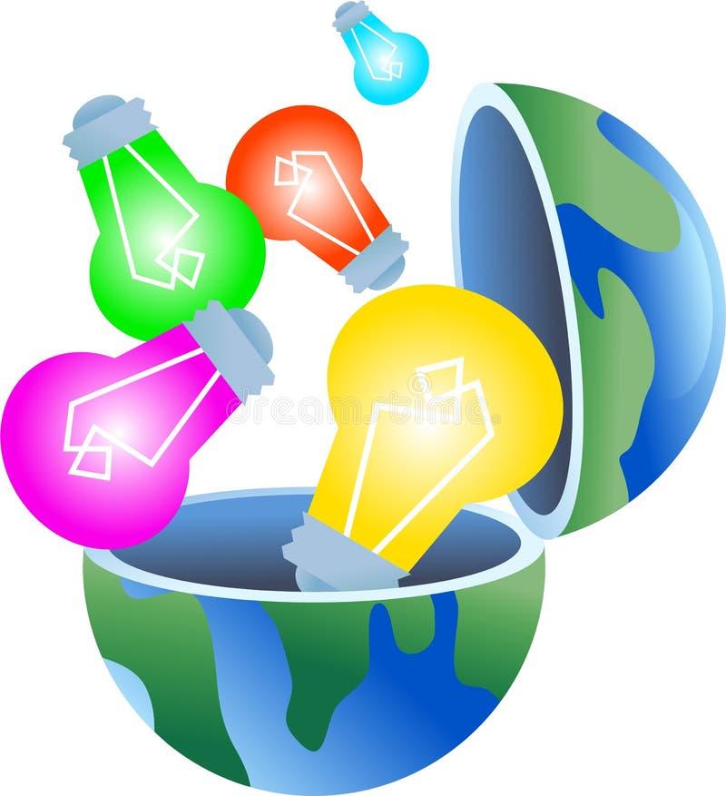 globe d'ampoule illustration de vecteur