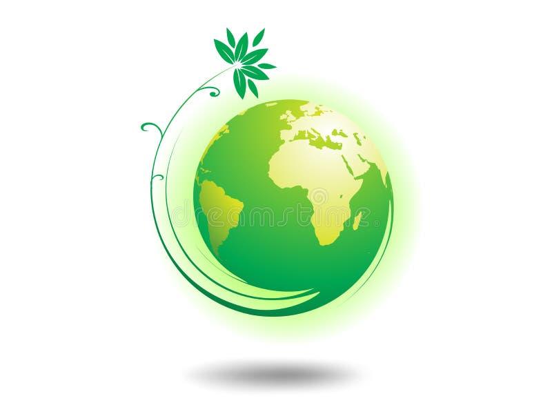 Globe d'environnement illustration de vecteur