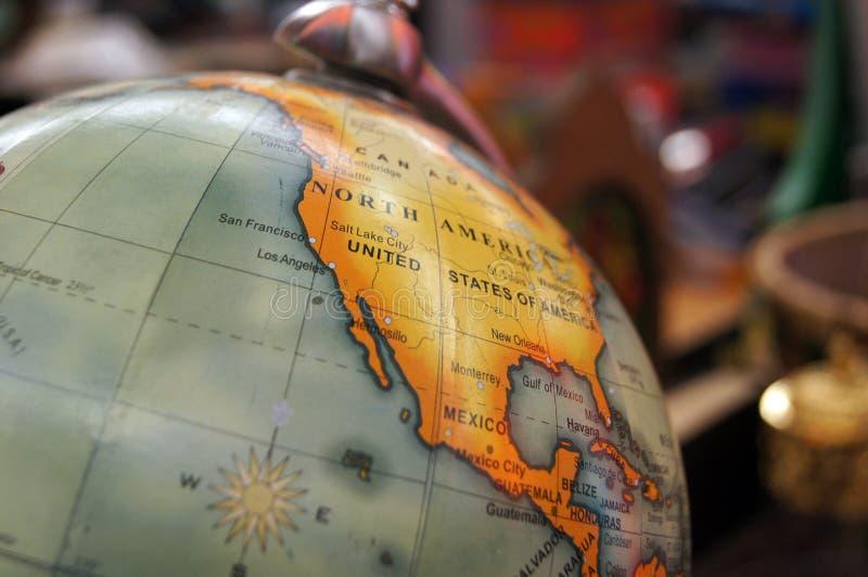 Globe de cru photographie stock libre de droits