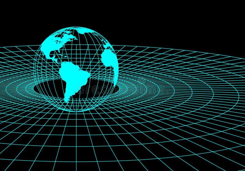globe de Fil-trame   illustration libre de droits