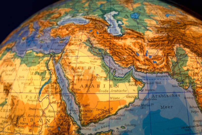 Download Globe de la terre photo stock. Image du longitude, loin - 12491268