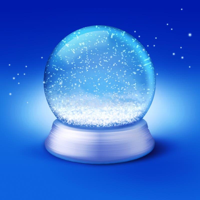 Globe de neige illustration libre de droits