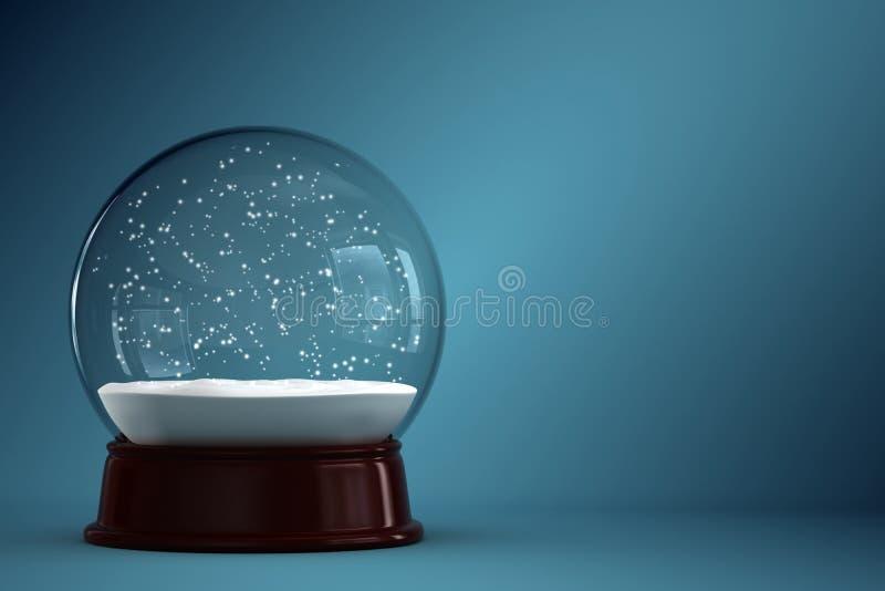 Globe de neige illustration stock