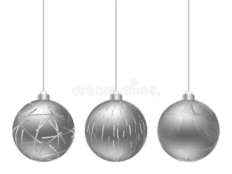 globe de Noël illustration libre de droits