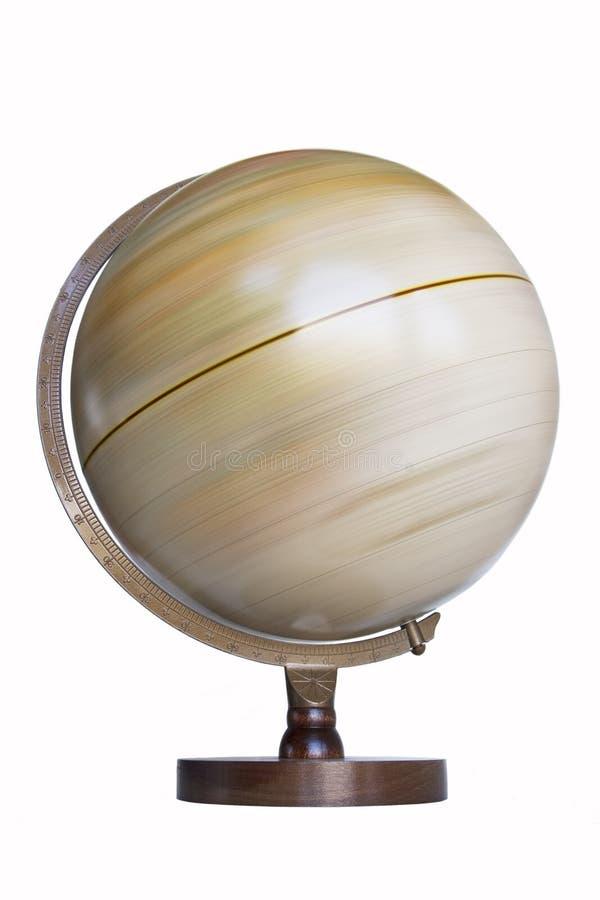 Globe de rotation image stock