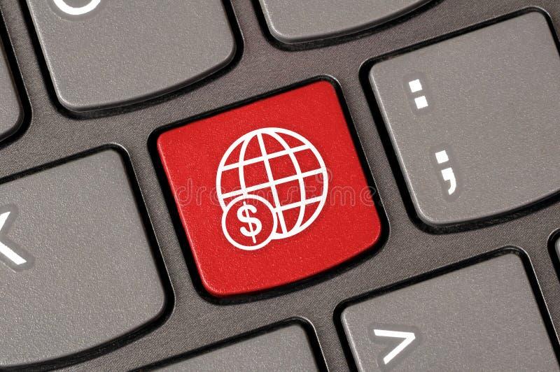 Globe dollar money royalty free stock photo