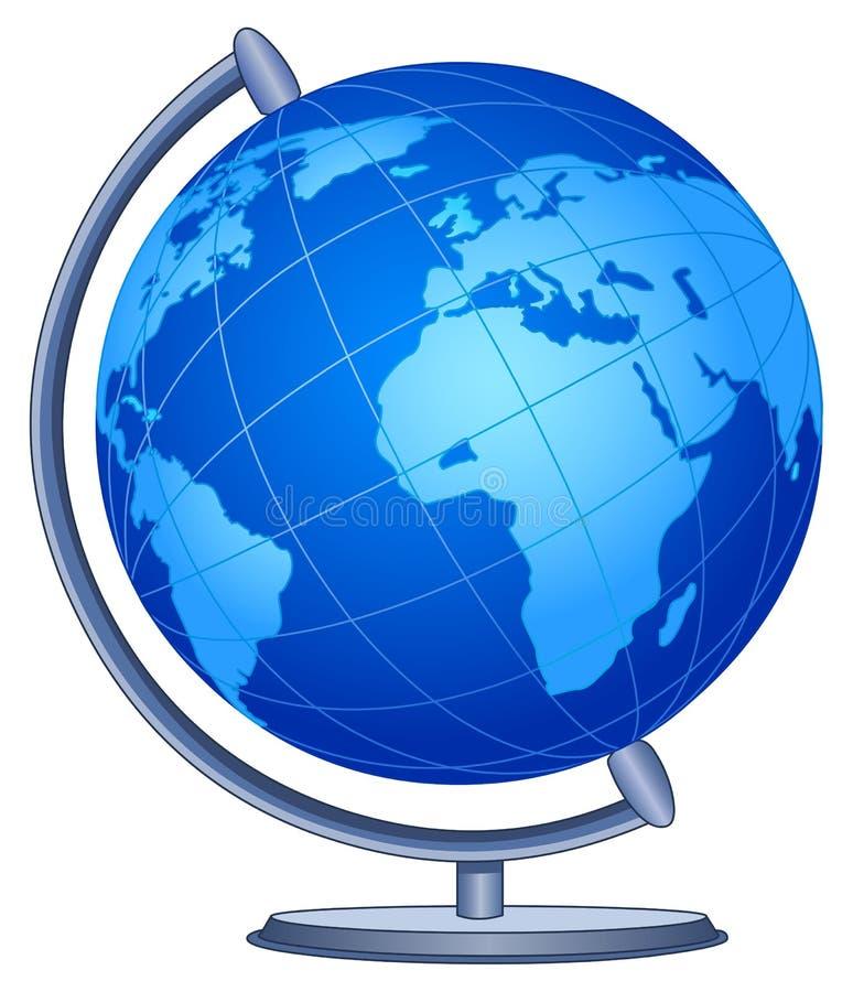 Globe du monde illustration de vecteur