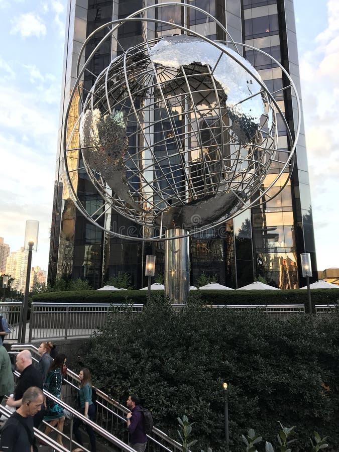 Globe du monde d'atout photo stock