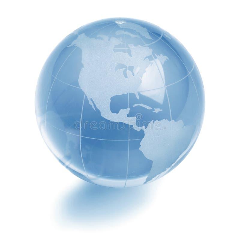 Globe en verre photographie stock libre de droits
