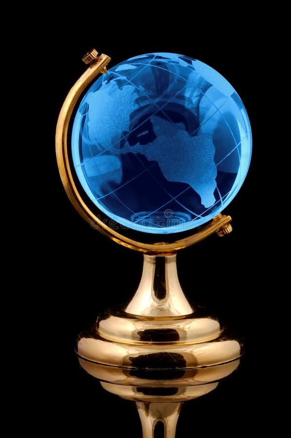 Globe en verre image stock