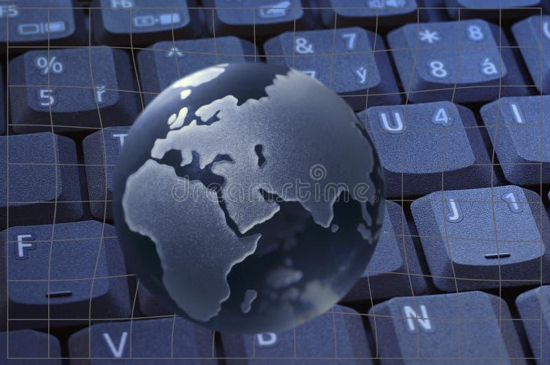Globe en verre illustration libre de droits