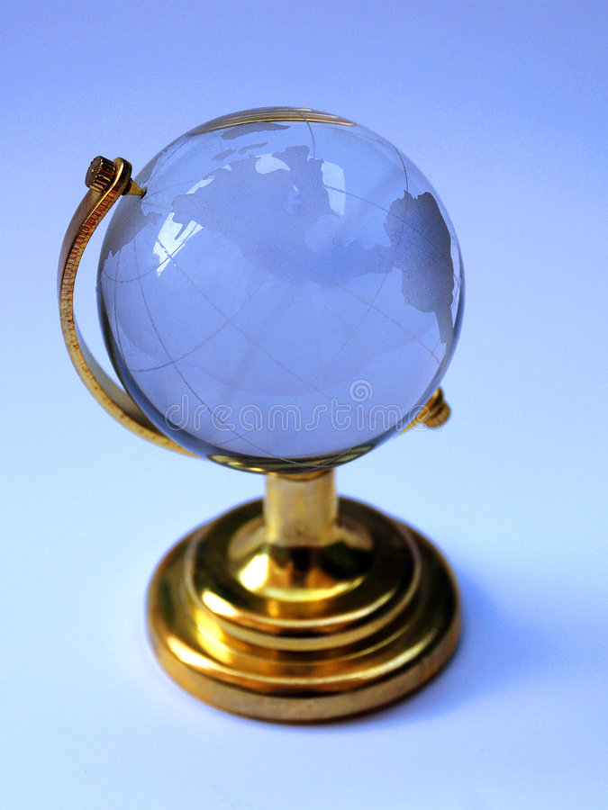 Globe en verre photographie stock
