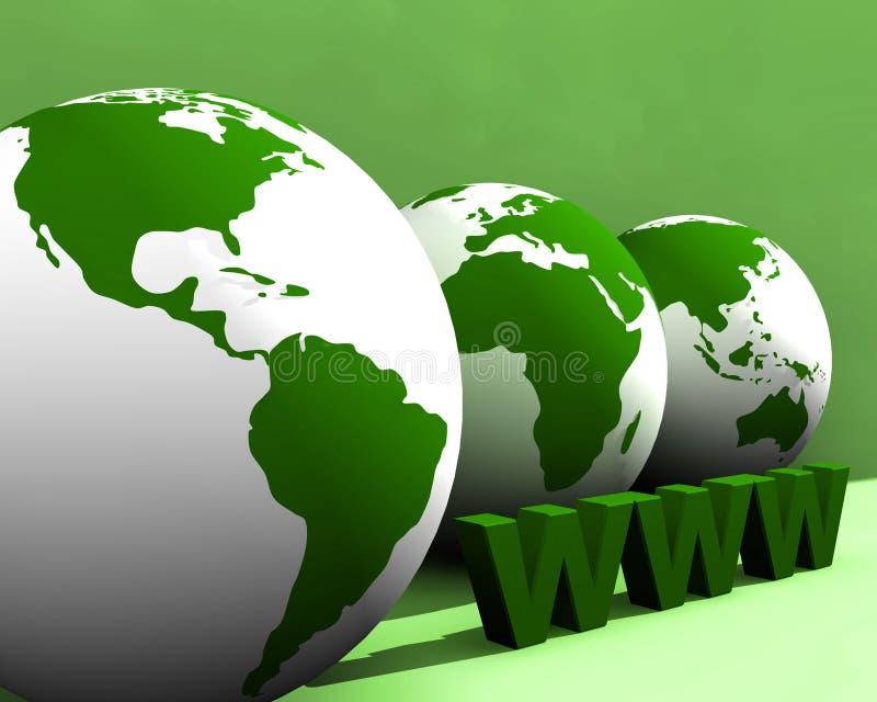 Globe et WWW 003 photo libre de droits