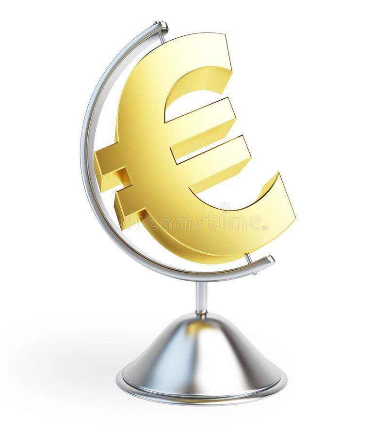 Download Globe Euro Sign Royalty Free Stock Photos - Image: 13916088