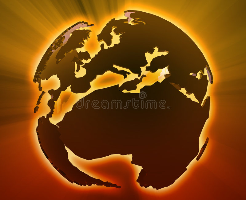 Download Globe Europe Africa stock illustration. Image of glassy - 7239170