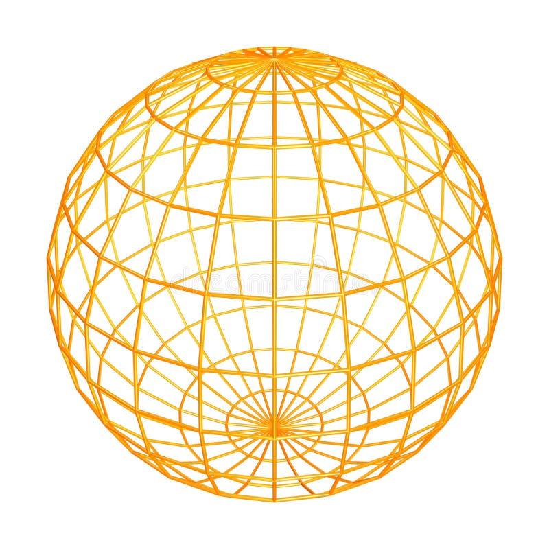 Download Globe frame stock illustration. Image of shiny, reflection - 935478