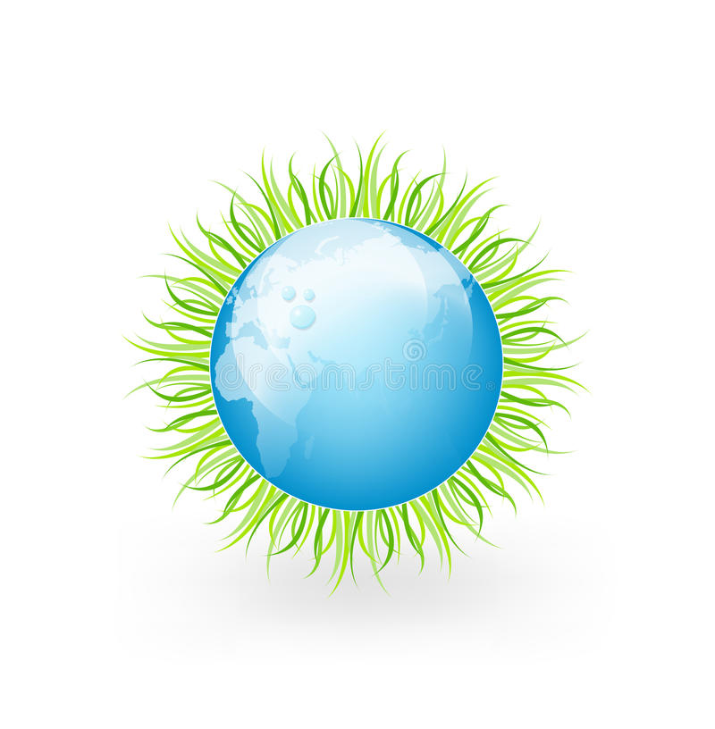 Download Globe With Grass Stock Photos - Image: 21542433