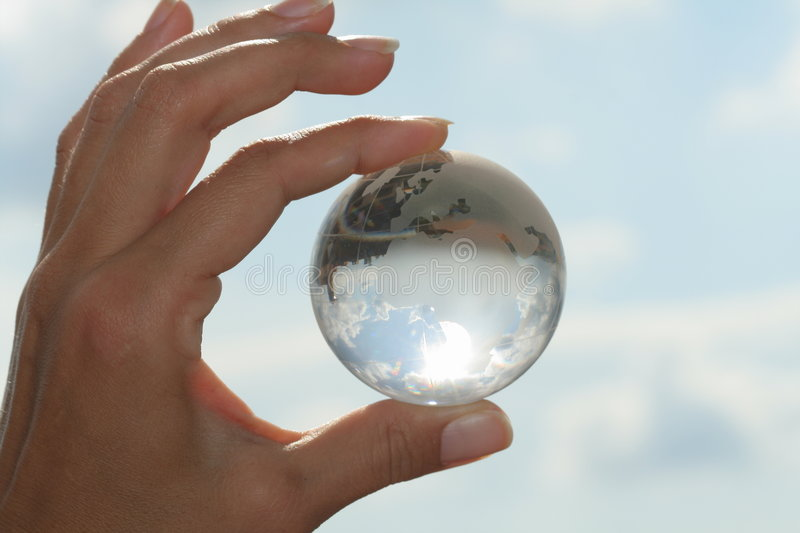 Download Globe in hand stock photo. Image of nature, conceptional - 731046