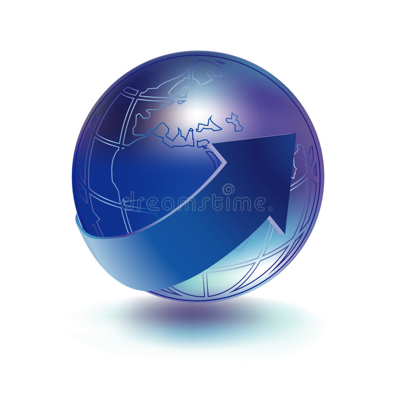 Download Globe icon stock vector. Illustration of planet, icon - 8643080
