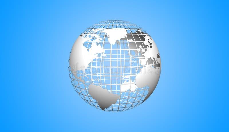 Globe icon royalty free stock photo