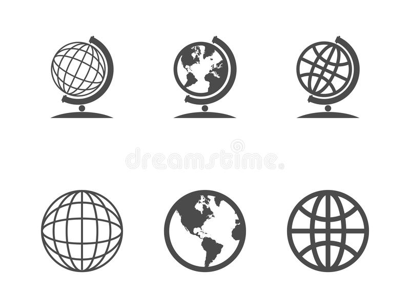Download Globe Icons Stock Photo - Image: 35159190