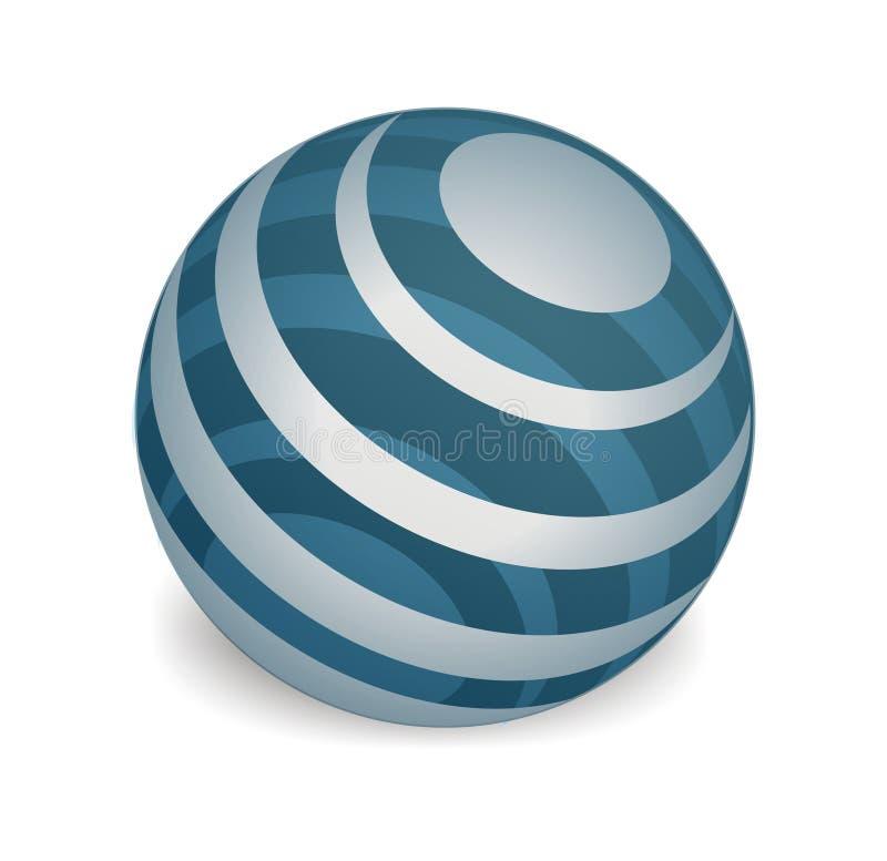 Globe illustration vector illustration