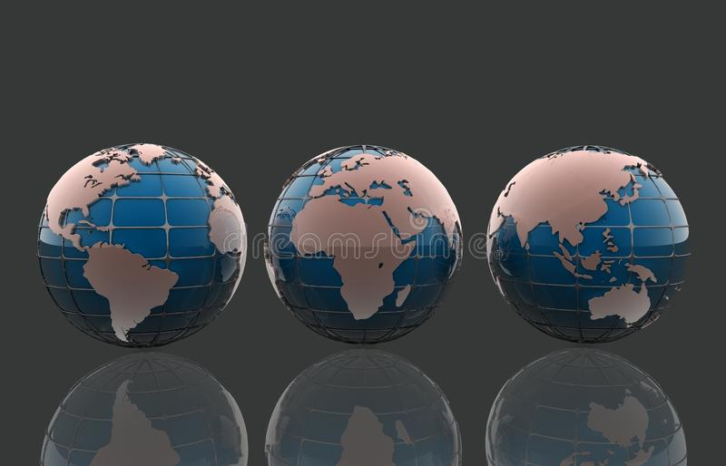 Download Globe stock illustration. Image of background, shape - 30565736