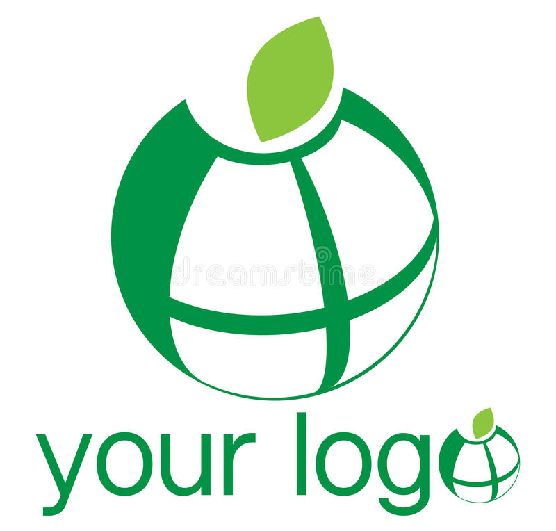 Globe Logo Royalty Free Stock Photography