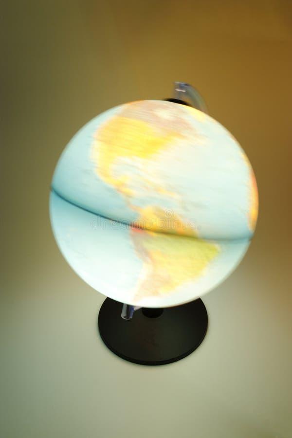 The globe luminous royalty free stock images