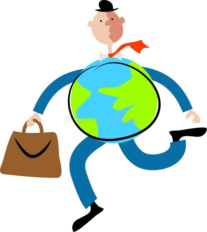 Download Globe Man stock vector. Illustration of environmental, people - 115483
