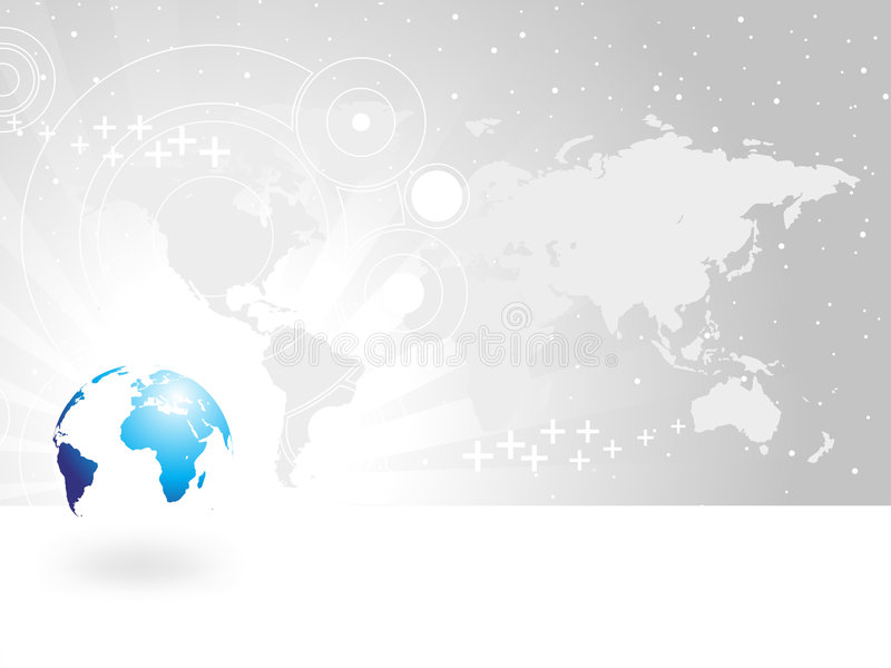 Download Globe And Map Of The World Royalty Free Stock Image - Image: 4741866